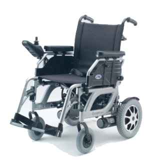 powered wheelchair - click for printable leaflet